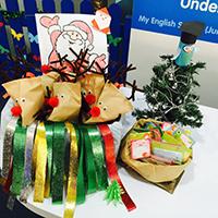 Jurong West students enjoy reindeer goodies!